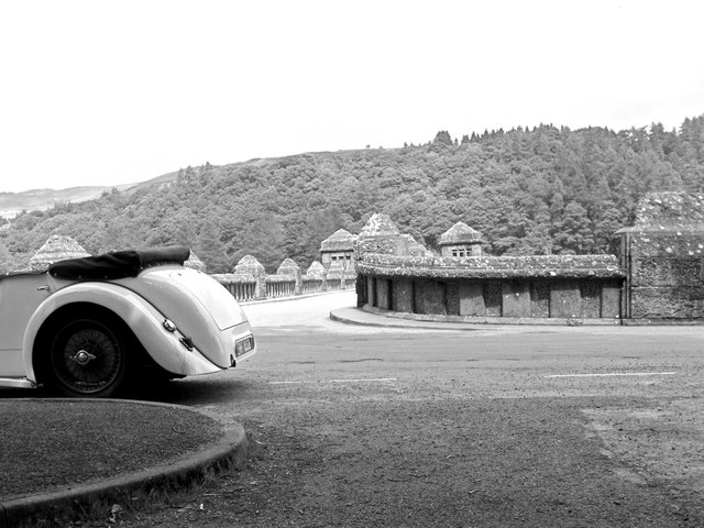 Alvis is alive and well at Lake Vyrnwy