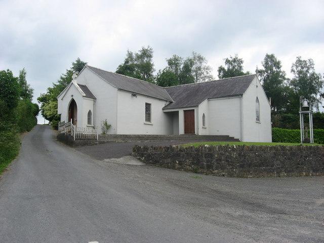 Church at Mullaghey, Kells, Co. Meath