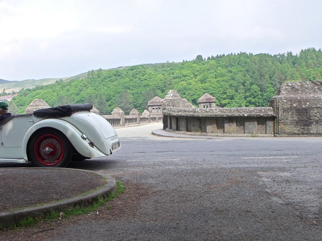 Alvis in colour, Lake Vyrnwy