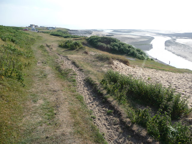 Nearing the mouth of the River Ogmore