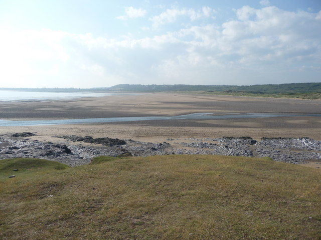 View across the River Ogmore