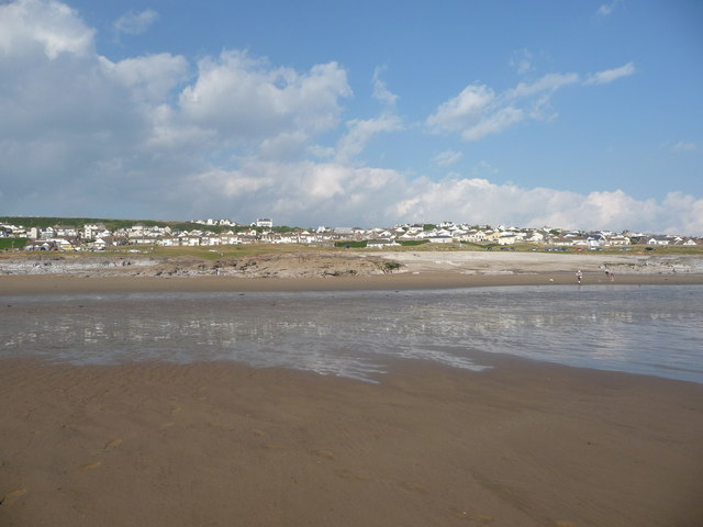 Fragmented reflections in the sand, Ogmore-by-Sea