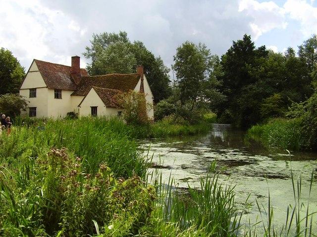 Willy Lott's Cottage, Flatford, Suffolk