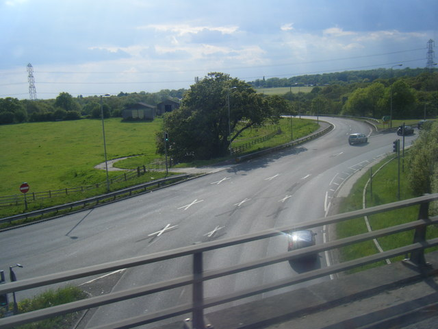 A12 looking south from M25
