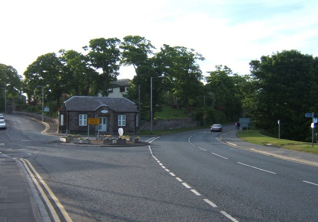 Toll House at the junction