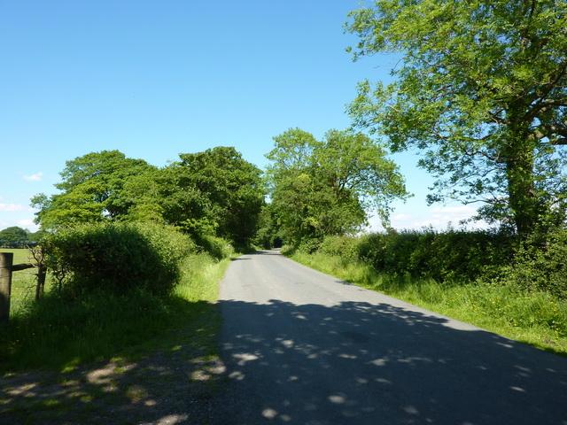 Hellifield Road north of Monubent Head