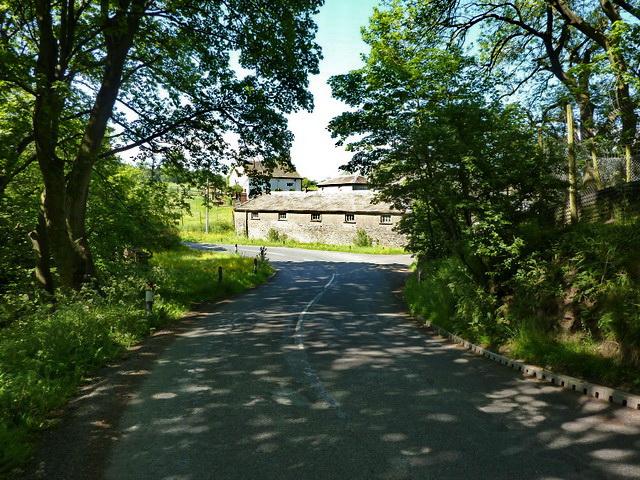 Gisburn Road south of Ellenthorpe Farm