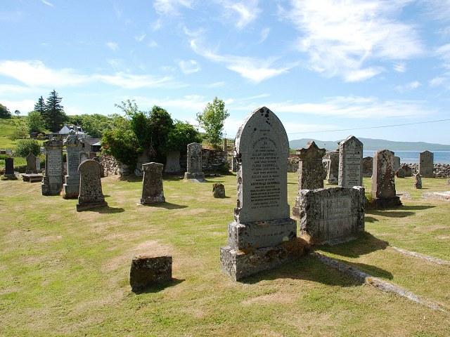 Carsaig cemetery