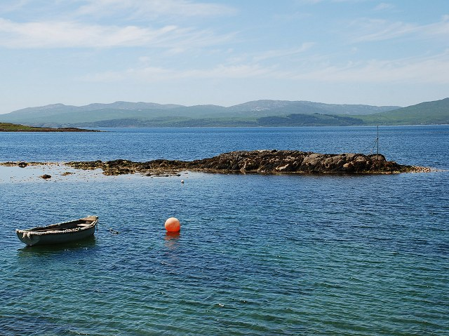 Skerry in Carsaig Bay