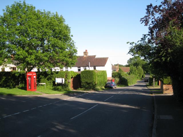 Station Road near Hatton Station