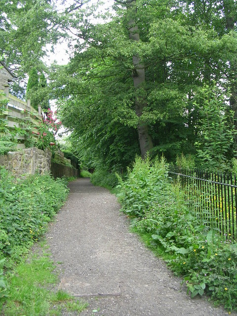 Footpath to Magdale Fields - off Eastgate