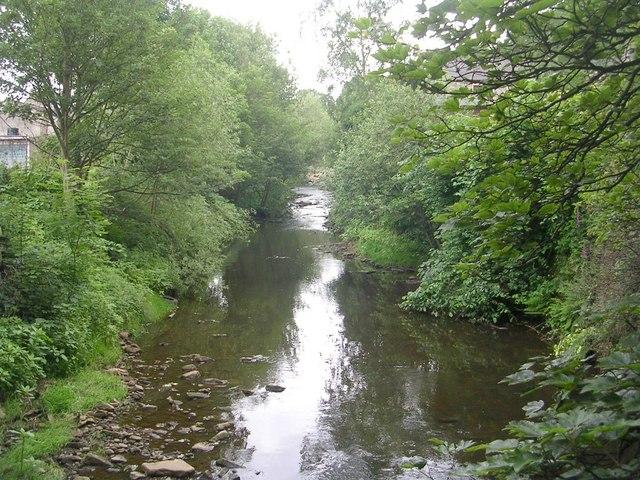 River Holme - from Footbridge off Eastgate