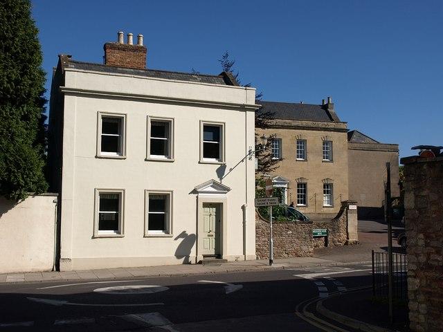 House on Chamberlain Street, Wells
