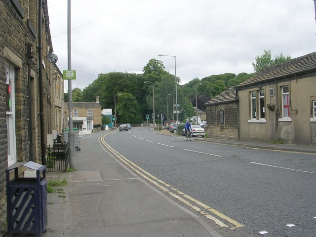 Woodhead Road - viewed from Northgate
