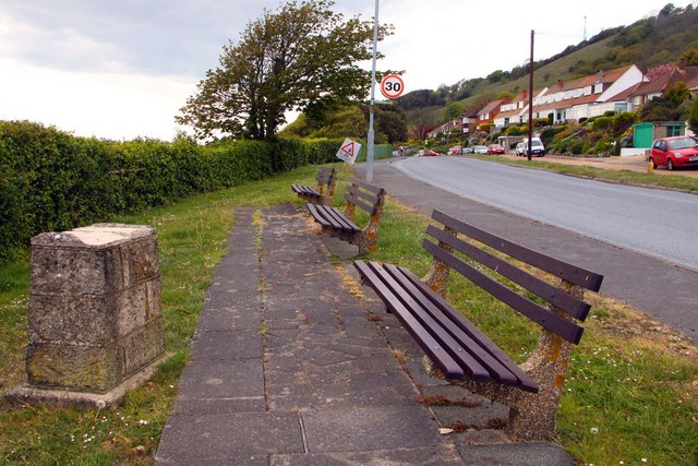 Benches on Leeson Road