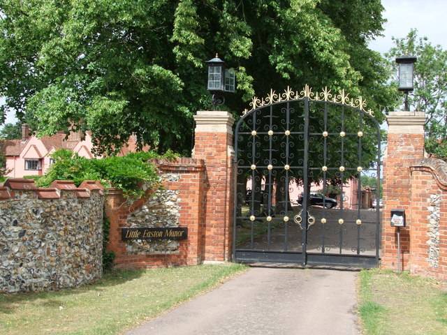 Entrance Gateway to Little Easton Manor