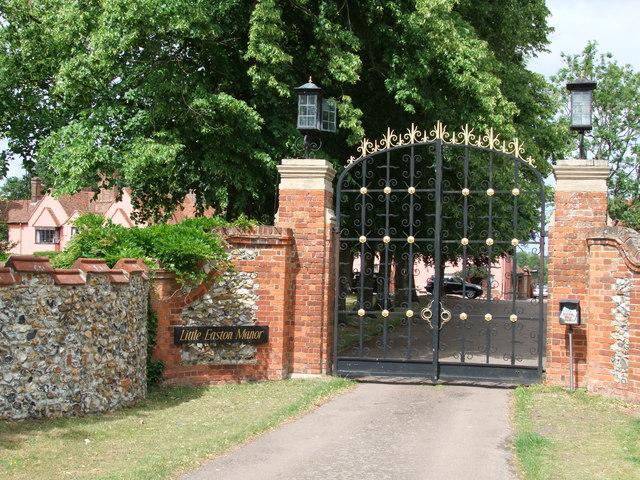 Entrance Gateway to Little Easton Manor