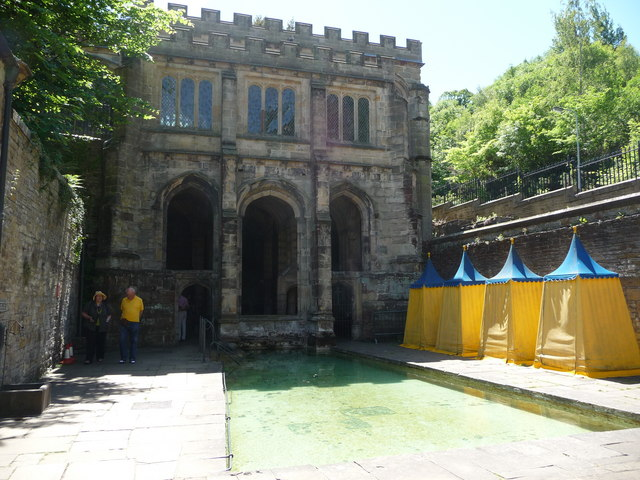 St. Winefride's Well building, one of The Wonders of Wales