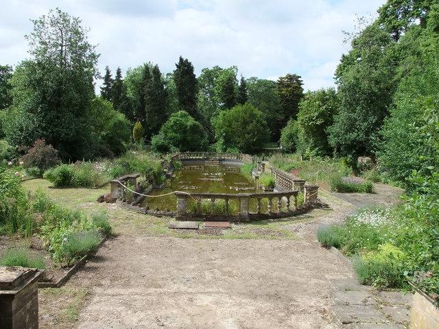 Lake in The Italian Garden, Easton Lodge