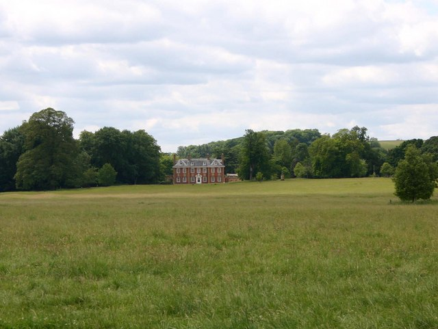 Distant view of Honington Hall