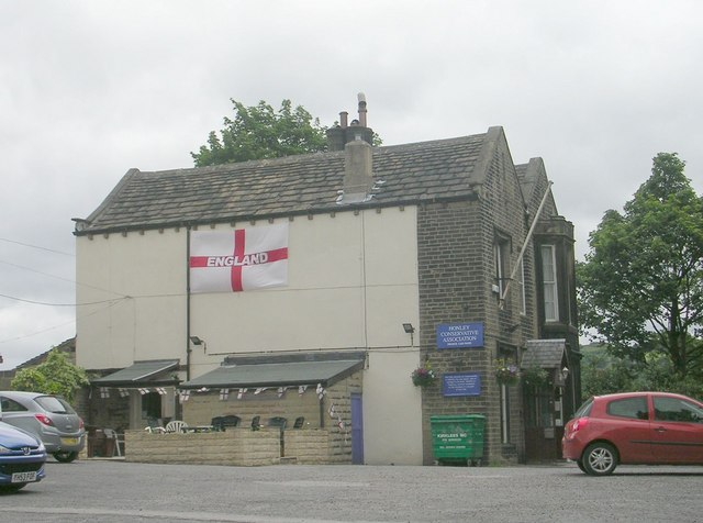 Honley Conservative Association - St Mary's Square, Church Street