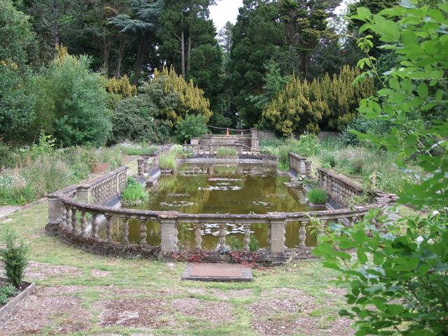 The Italian Garden at Easton Lodge