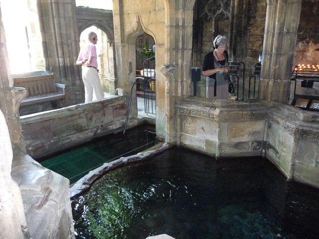 Saint Winefride's Well, Holywell
