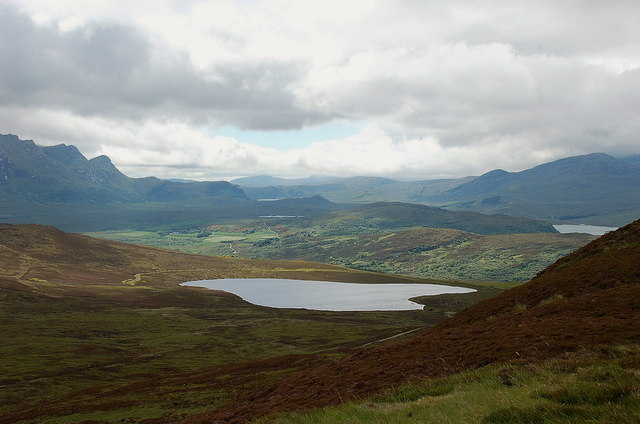 Loch Craisg from Ben Tongue