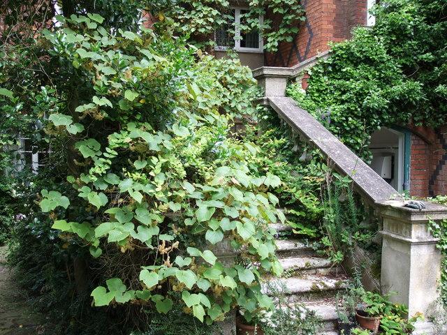 Stairway at Warwick House, Easton Lodge
