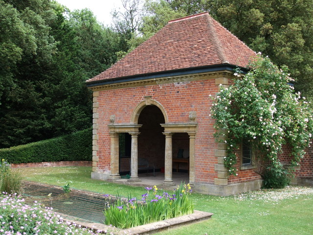 The 'Peto' pavilion in Gardens of Easton Lodge