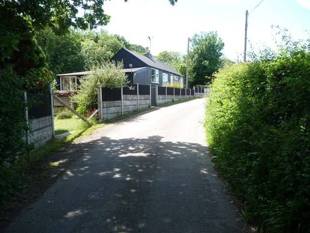 Corrugated cottage above Stokyn Dingle