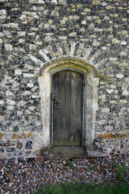 St Mary, Shotesham, Norfolk  - Doorway