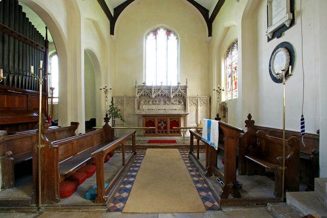 St Mary, Shotesham, Norfolk - Chancel