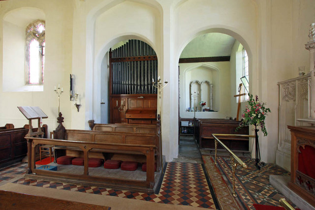 St Mary, Shotesham, Norfolk - Interior