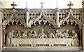TM2398 : St Mary, Shotesham, Norfolk - Reredos : Week 24
