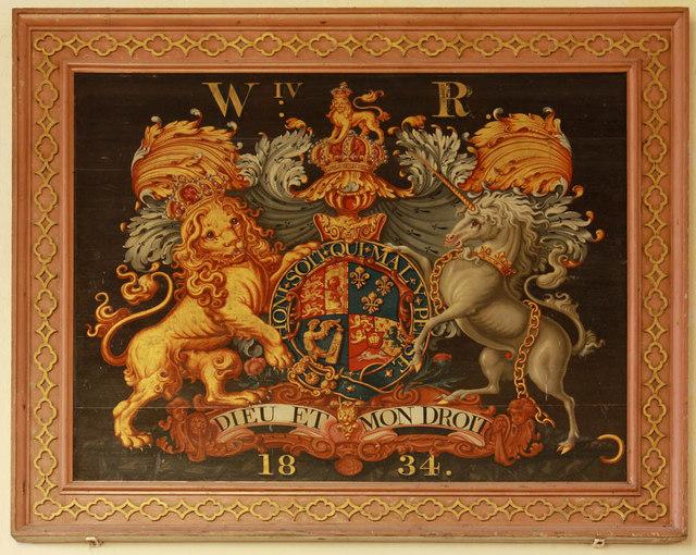 St Mary, Shotesham, Norfolk - Royal Arms