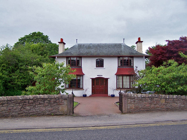 Unusual house, Conon Bridge