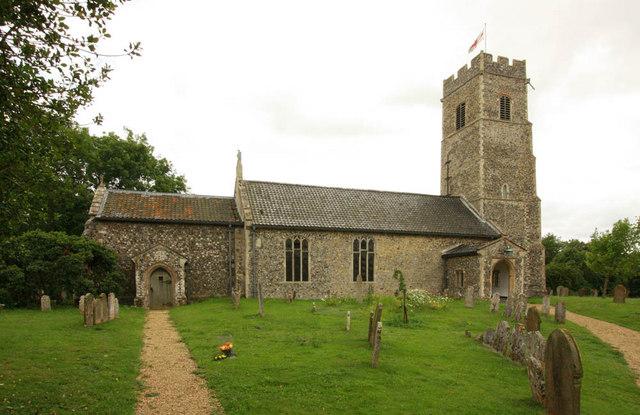 All Saints, Shotesham, Norfolk