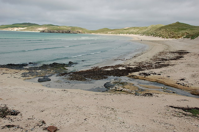 The beach at Balnakeil Bay