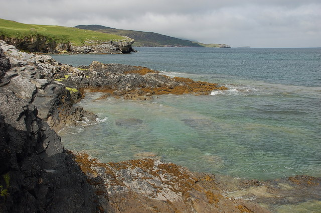 Rocky coast at Balnakeil