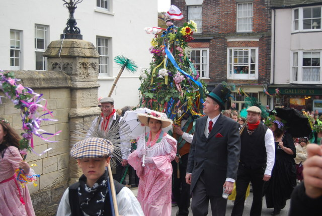 Jack in the Green Festival 2010 - chimney sweeps