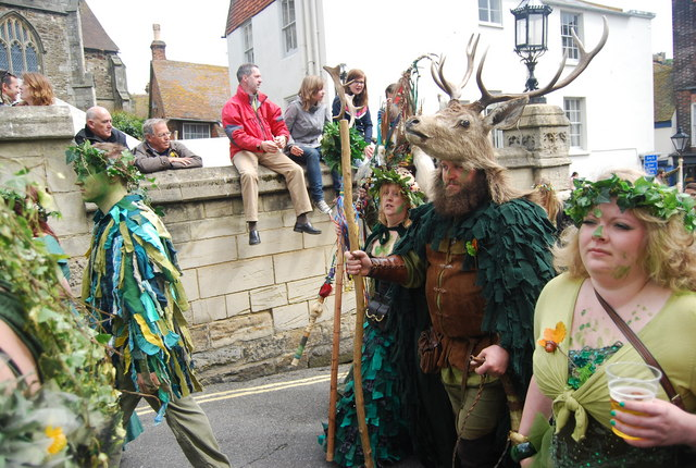 Jack in the Green Festival 2010 - the Deer Man