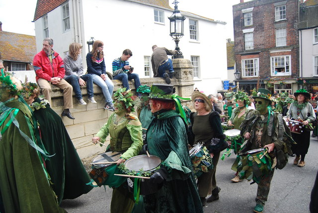 Jack in the Green Festival 2010 - drummers