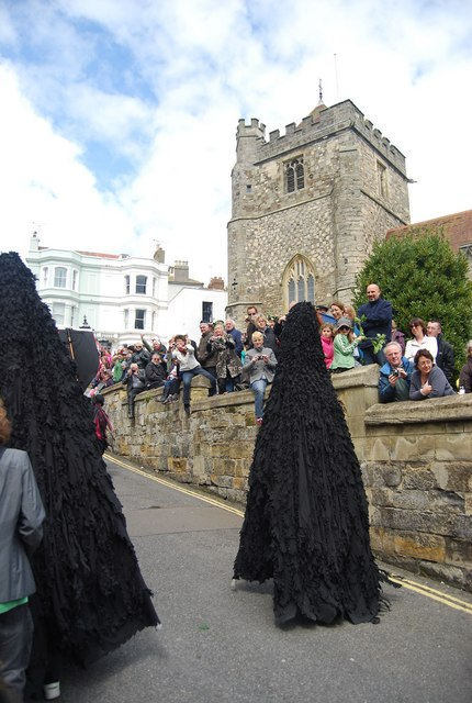 Jack in the Green Festival 2010 - Ravens by St Clement's Church