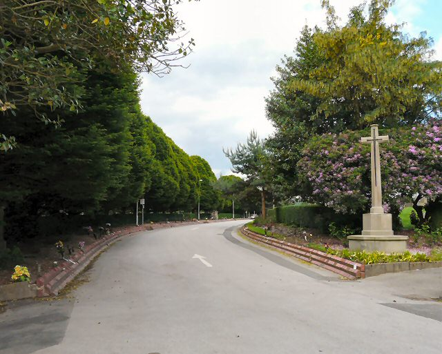 Crematorium Entrance