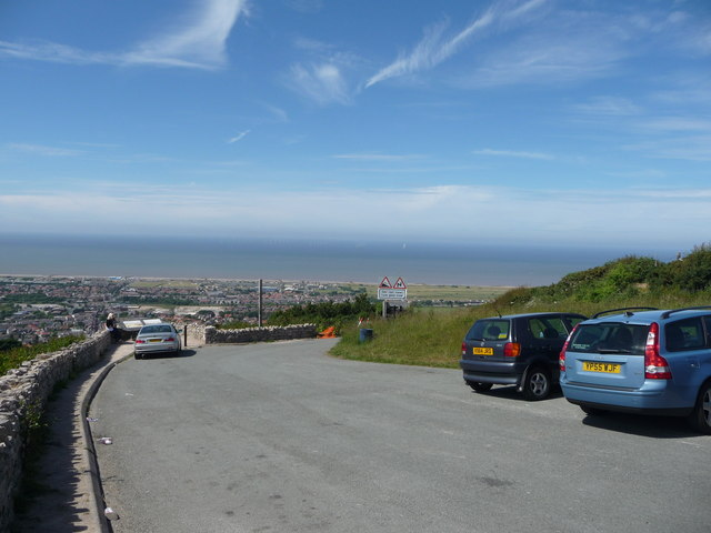 Gwaenysgor viewpoint car park