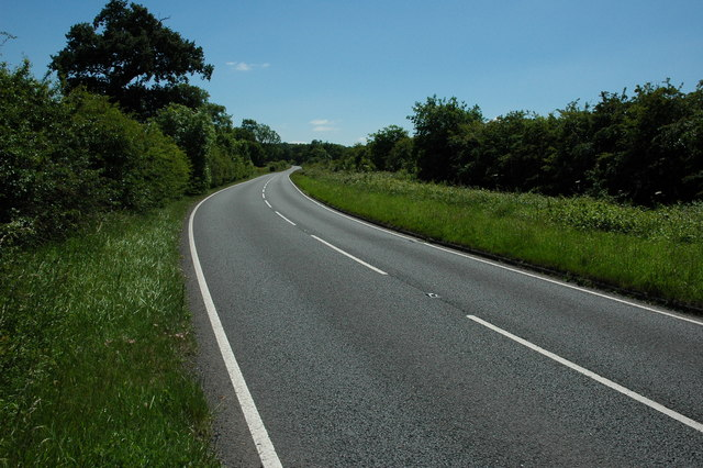 The A422 near Cookhill