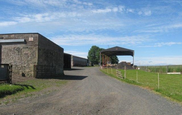 Buildings at Castlelaw Farm