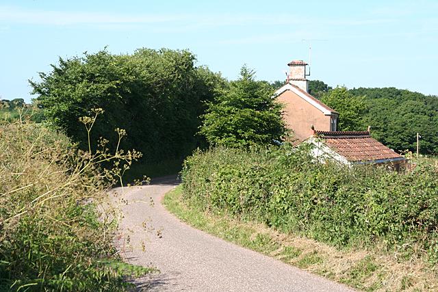 Uplowman: by Beerdown Cottage