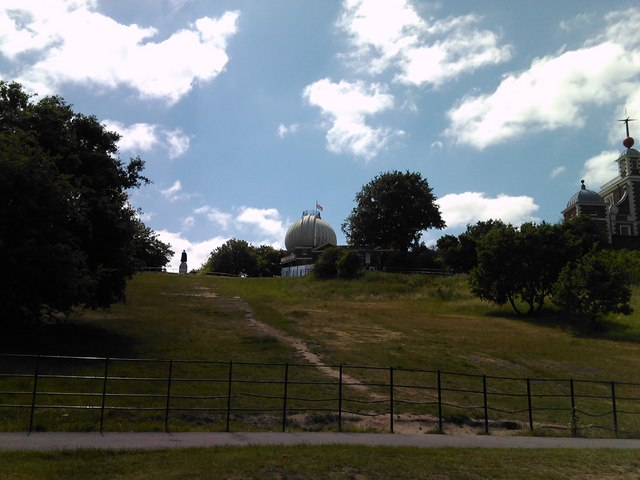 The Royal Observatory, viewed from ground level
